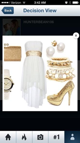 dress cream dress strapless dresses