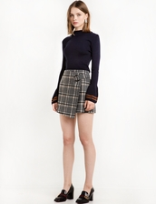 sweater,navy bell sleeve sweater,navy bell sleeve,sweater weather,bell sleeves