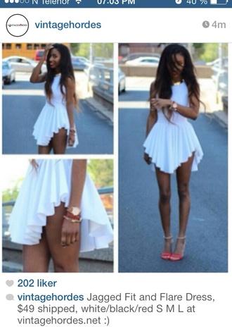 dress besutiful cool sweet withe