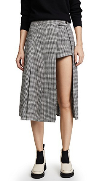 Sandy Liang gingham skirt