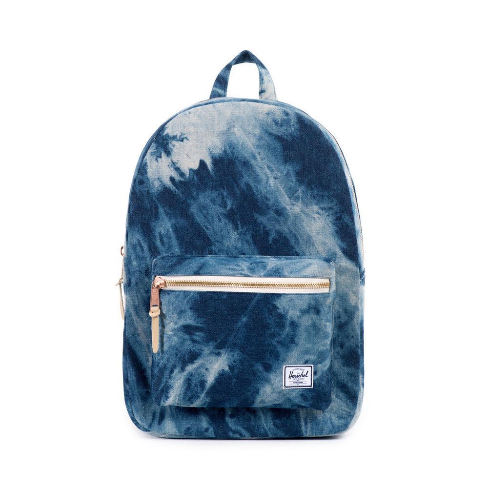 HERSCHEL Settlement Acid Wash Backpack Laptop Zaino Jeans Zainetto carhartt