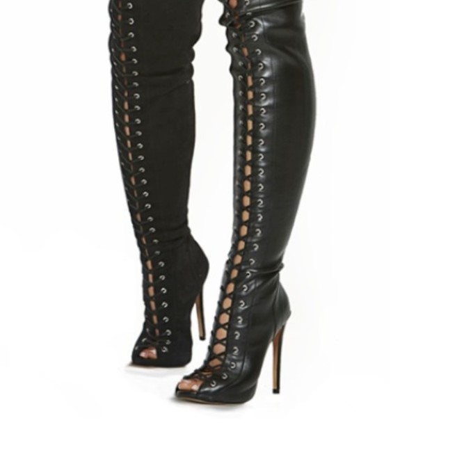 lace up thigh high boots car interior design