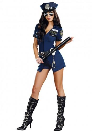 Naughty Women Police Halloween Costume