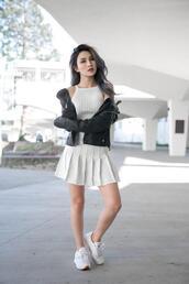 atsuna matsui,atsuna matsui »,blogger,shoes,jacket,skirt,top