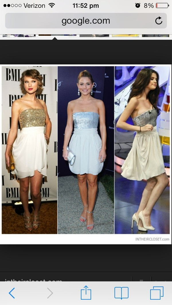 dress taylor swift gold white dress gold sequins formal dress party dress cocktail dress