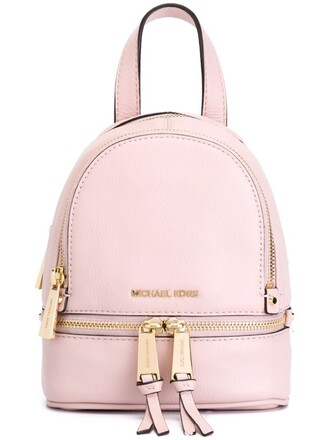 backpack purple pink bag
