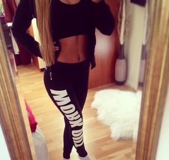 pants sweatpants workout workout leggings gym leggings gym leggings black sportswear sporty dress clothes blouse