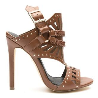 shoes heels sandals gladiators studded studded sandals chestnut chestnut sandals