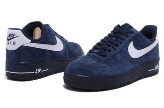 shoes nike nike shoes blue bleu sneakers