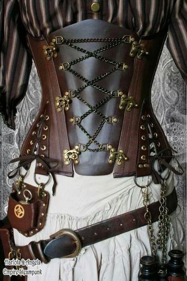 corset top steampunk