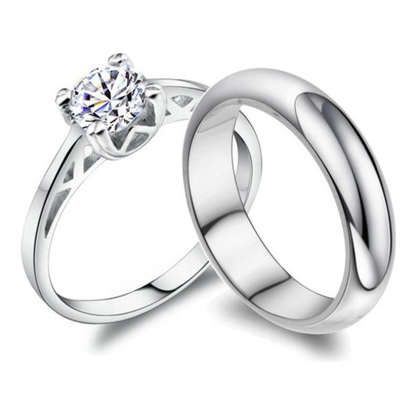 ecd800a204 jewels diamond rings couples rings set engagement ring his and hers rings  engagement ring engraved rings