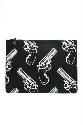 bag trendyish clutch bang gun purse