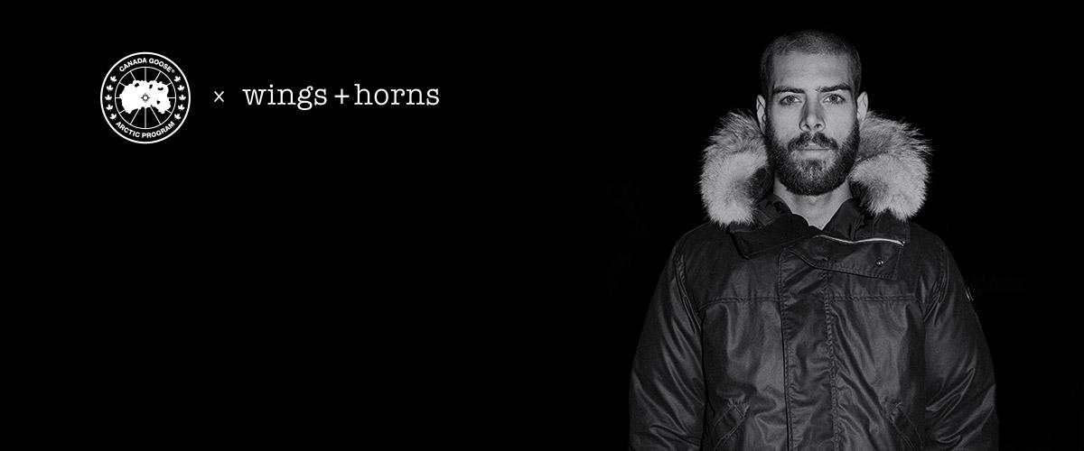 Wings   Horns | Canada Goose