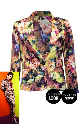 Ladies Ardelle Floral Blazer | Pop Couture