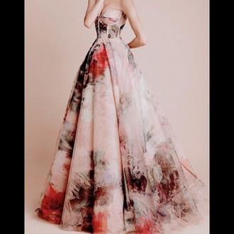dress long dress long prom dress pale pink black dress nice fashion red dress
