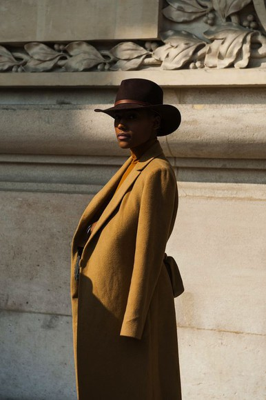 hat coat fall outfits streetstyle fashion week 2014