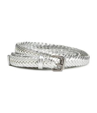 belt silver belt braided