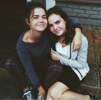 jeans maia mitchell plaid jeans