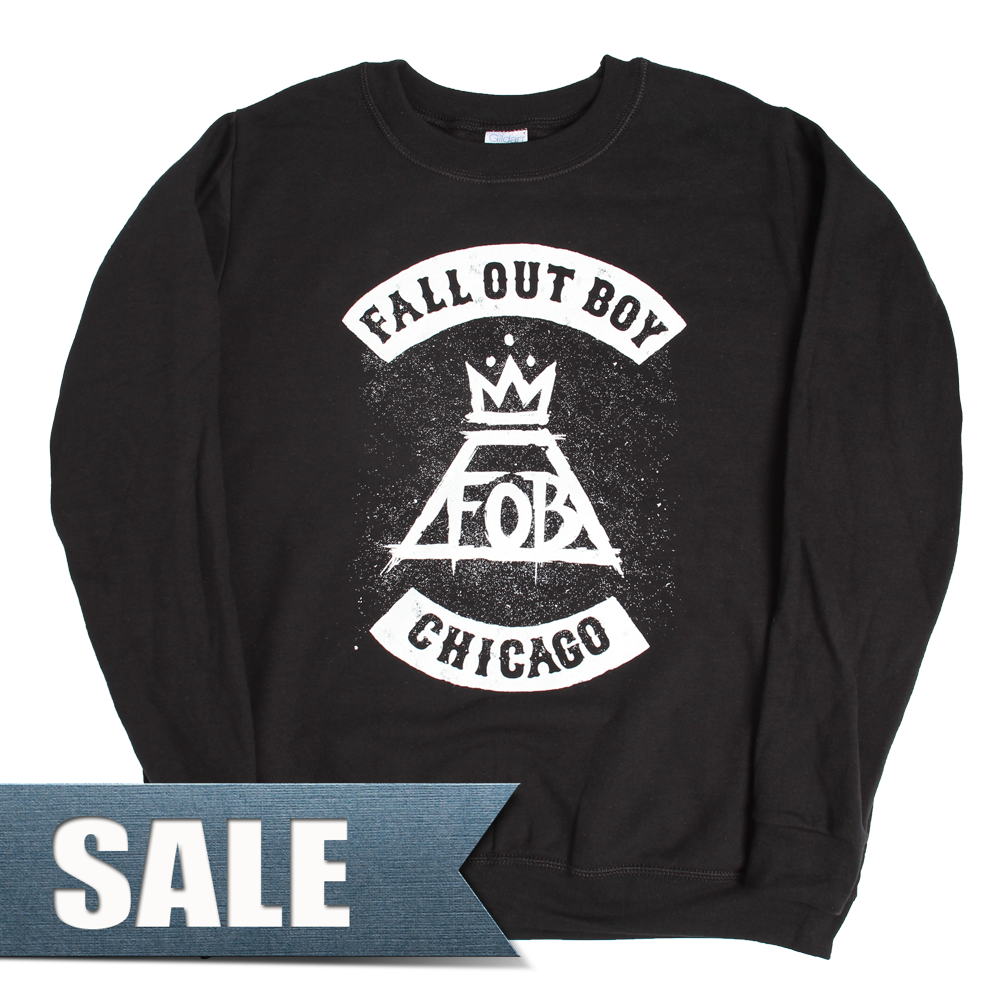 Chicago City Crewneck - Fall Out Boy