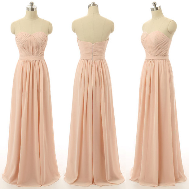 Dress Prom Prom Dress Pink Pastel Pastel Pink Pretty Love