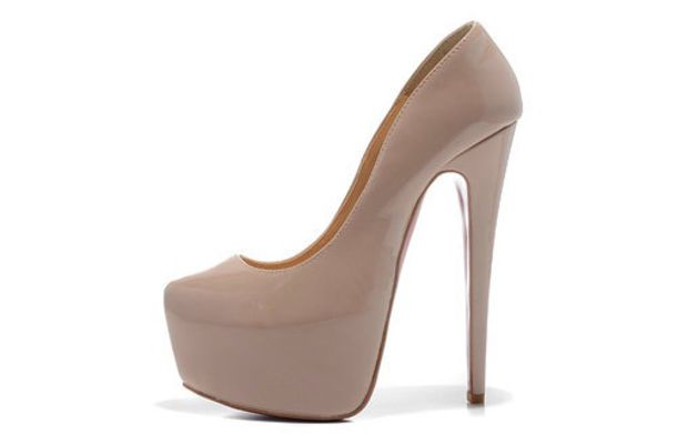 Shoes: nude nude high heels nude pumps beige shoes beige high