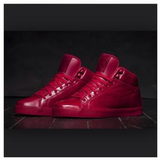 shoes tyga t raww mens shoes burgundy