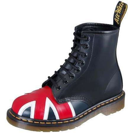 Dr. Martens - Black Smooth Union Jack | ThisNext