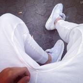 pants,white,jeans,skinny,joggers,sportswear,nike air max 1,nike