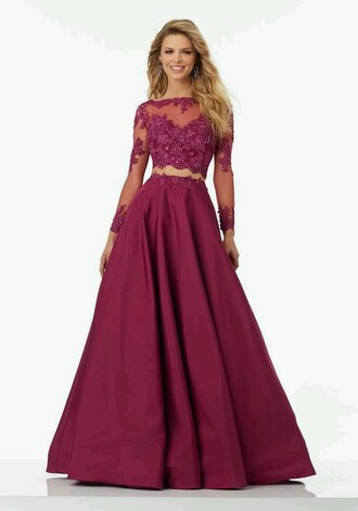dress purple pink