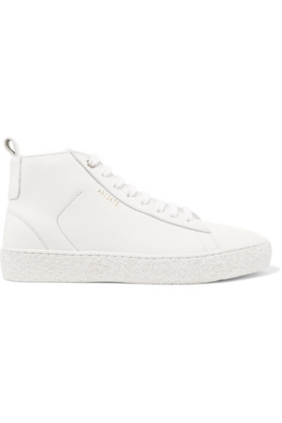 Axel Arigato high sneakers leather white shoes