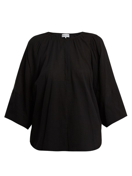 Apiece Apart top cotton black
