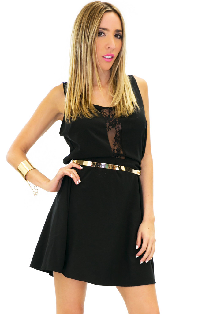 JANET LACE CUTOUT DRESS | Haute & Rebellious