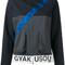 Nike - gya colour block jacket - women - polyester - s, grey, polyester