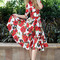 Boutique fashion - rose floral dress