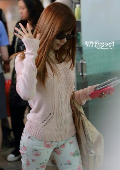 korea jeans K-pop blouse tiffany hwang snsd phone case