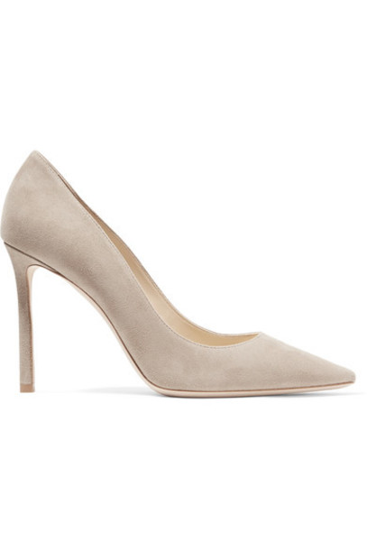 Jimmy Choo suede pumps 100 pumps suede shoes