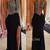 Unique black chiffon beaded long prom dress, evening dress - 24prom