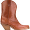 A.f.vandevorst - cowboy boots - women - calf leather/leather - 36.5, brown, calf leather/leather