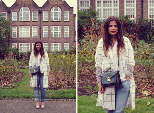 missplayground blogger bag jeans coat shoes shirt