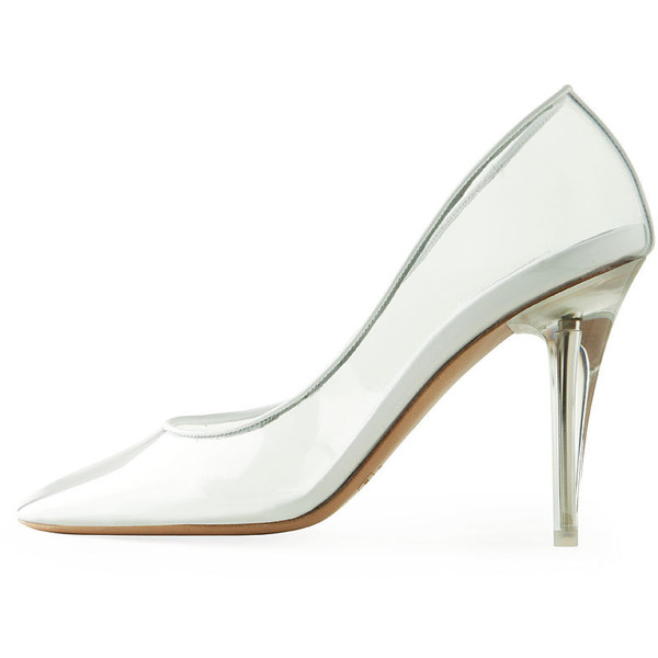 Marc Jacobs Transparent Pump