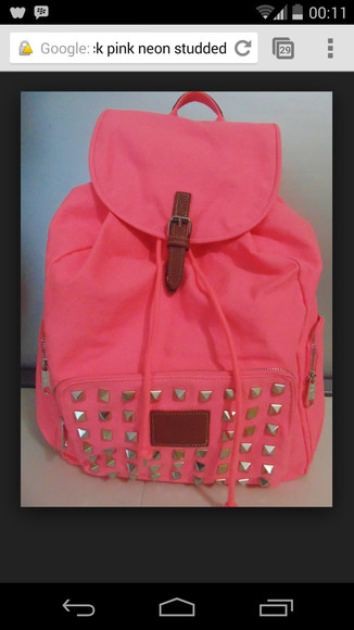 bag backpack victoria secret pink