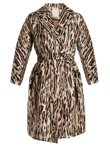 S MAX MARA coat animal