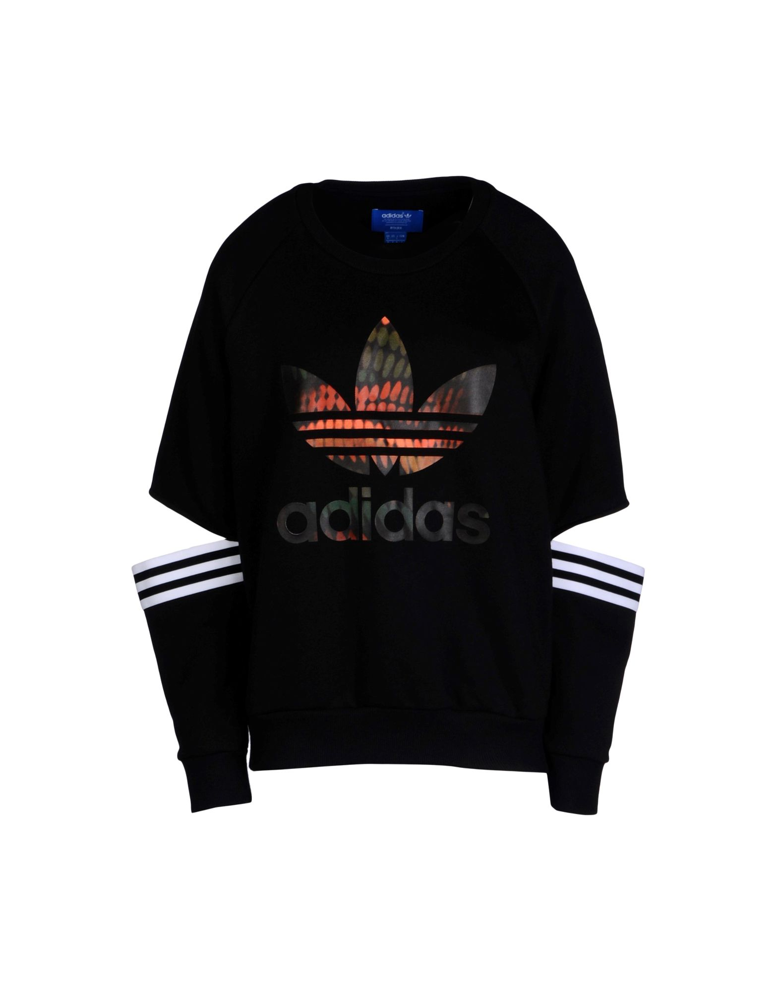 sweat shirt adidas originals by rita ora cut out sweater femme sweat shirts adidas originals. Black Bedroom Furniture Sets. Home Design Ideas