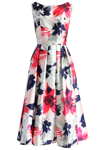 dress passionate blossoms prom dress chicwish prom dress printed dress floral dress party dress