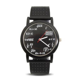 jewels watch nerd math black watch