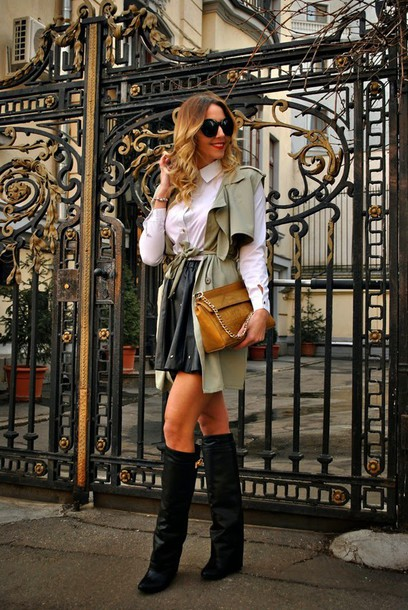 let's talk about fashion ! blogger blouse jacket skirt shoes bag jewels