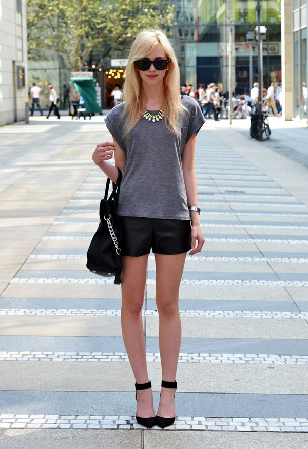 vogue haus shirt shorts shoes bag sunglasses jewels