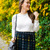 Green Plaid High Rise Skirt | Covering the Bases | Fashion and Travel Blog New York City
