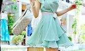 dress,japanese,chine,blue,turquise,bag,purse,handbag,belt,pink,purple,cute,fashion,vintage