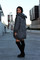 Sized hooded cardigan